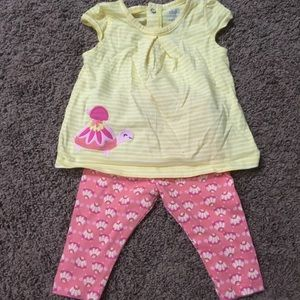 Carter's Child Of Mine Turtle Outfit 0-3m